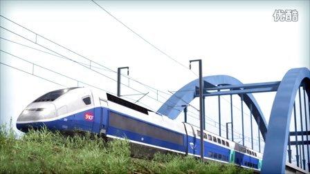 模拟火车2016 法国新线路宣传片 Marseille-Avignon SNCF