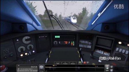 模拟火新2016 新车试玩 雨中飞驰的法国高铁TGV Duplex