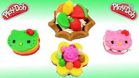 Play-Doh 培乐多欢乐时间-Hello Kitty 凯蒂猫蛋糕
