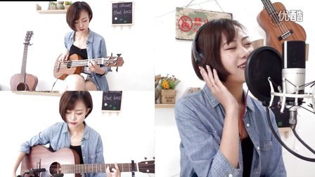 All About That Bass - Meghan Trainor (Acoustic Cover By iCing)燕子姐姐弹吉他