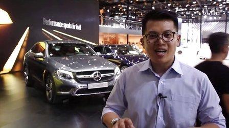 2016北京车展 奔驰GLCsportSUV重磅登场