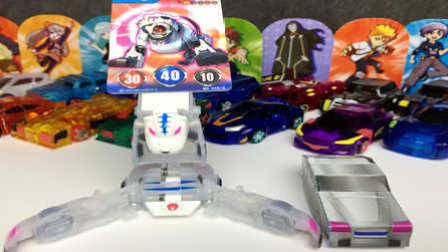【魔力玩具学校】矫健虎王 DIY魔幻车神制作及技能、性格介绍(24)自动爆裂变形玩具车机器人