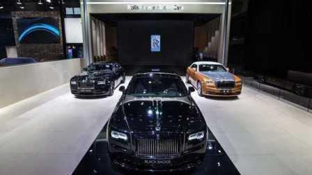 2016北京车展 劳斯莱斯全新车型古思特Black Badge揭幕仪式