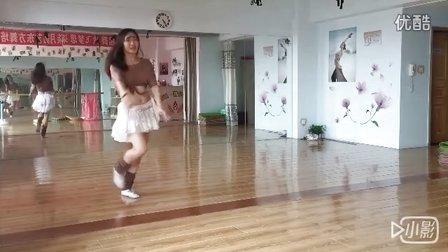 杭州柒月东方舞  俏皮shaabi《你是我的冰淇淋》(练习版)——君君