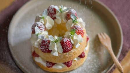 曼达小馆 2016 草莓戚风蛋糕 12