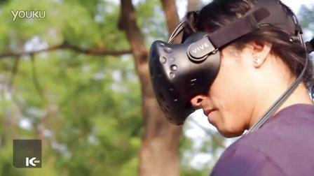 [K-Labs] 在户外使用虚拟现实设备 HTC VIVE