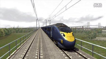 模拟火车2016 London-Faversham class395高速路段试玩