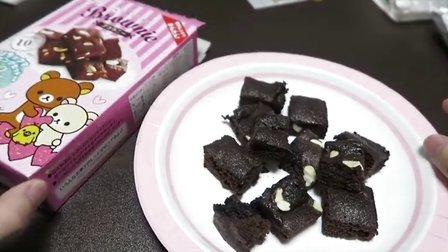 【小RiN子食玩】被做坏的微波炉蛋糕日本食玩