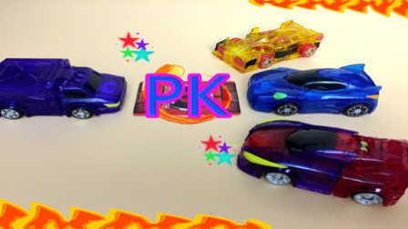 【魔力玩具学校】奇诡巫师PK孽爪章鱼 第二三季新款韩国魔幻车神精彩对决赛(14)自动变形玩具车机器人爆裂飞车 撼地神像 惊天神鹫
