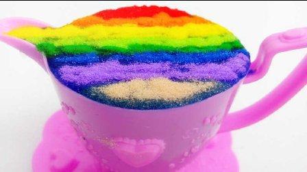 白雪玩具屋 2016 七色彩虹摩卡咖啡创意DIY下午茶 摩卡咖啡创意DIY下午茶