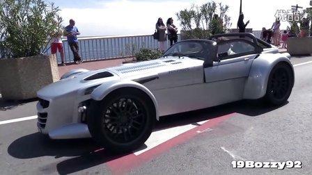380马力Donkervoort D8 GTO加速- 奥迪2.5升5缸TFSI发动机