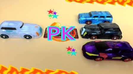 【魔力玩具学校】蓝域界PK猩红渊 第一二三季新款魔幻车神精彩对决赛(15) 自动变形玩具车机器人爆裂飞车 悍角黄牛 勇武猛犸 泰坦巨人 疾风迅龙
