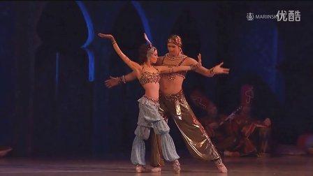 马林斯基剧院首席芭蕾明星《天方夜谭》双人舞片段