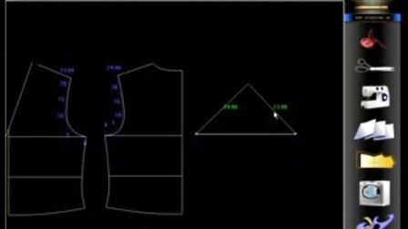 服装制版软件(ET)的详细讲解-打版(一)-03 双圆规_baofeng