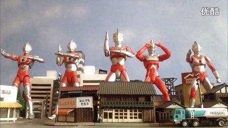 艾斯奥特曼定格动画《辉煌奥特五兄弟》【FinalZero零剧场】