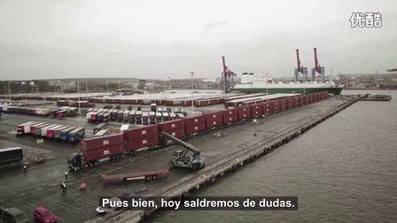 Volvo卡车挑战750吨货柜
