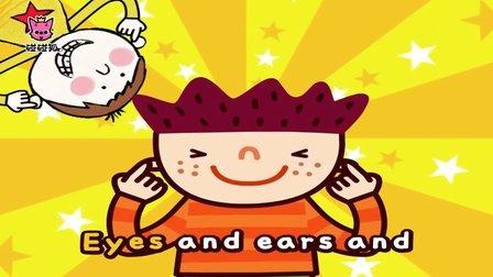 Head and Shoulders | 英语儿歌舞蹈 | 碰碰狐!儿童儿歌