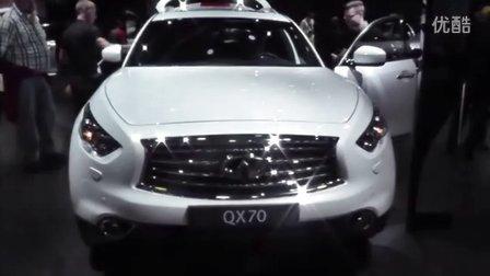 英菲尼迪2016款QX70外观内饰细节一览