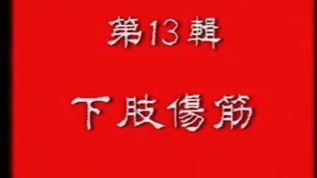 中国骨伤科学(15辑)13下肢伤筋