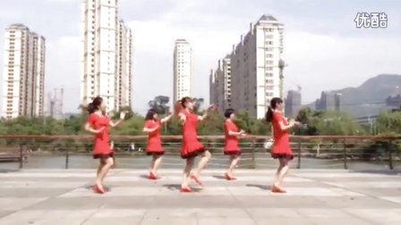 郭溪开心广场舞巜康巴情》原创沭河之光广场舞