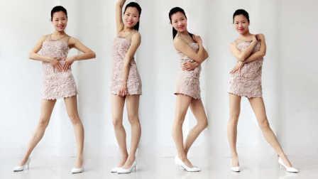 新生代广场舞 花开的时候来看我dj(16步正背光)编舞茉莉