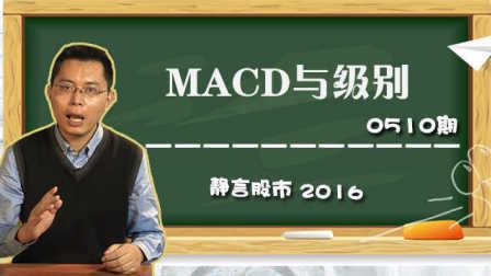【静言股市】日播版0510:MACD与级别
