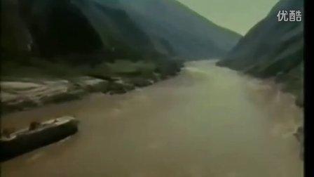 航拍高山云雾 火车 黄河 长江 长城素材