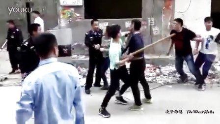 郑州拆迁户杀死3人后被击毙 枪杀案现场视频曝光