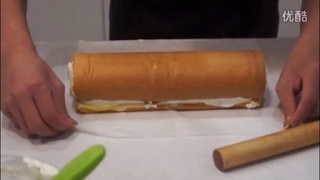 蛋糕卷制作过程