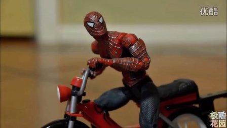 【极酷花园】定格动画『蜘蛛侠』part3【超级英雄动作片】
