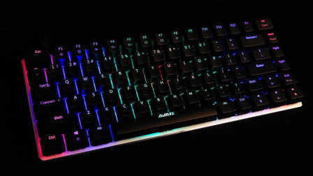 【十九种灯光】AJazz黑爵AK33RGB机械键盘灯光演示