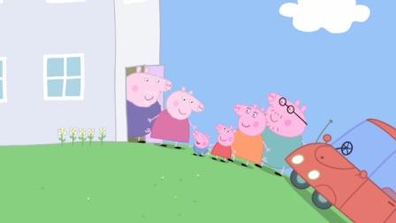 小猪佩奇 粉红猪小妹 托马斯和他的朋友们 托马斯过河 亲子小游戏