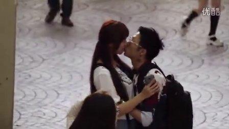 【街头骗吻】骚年上海街头搭讪178高挑新疆妹纸成功索吻