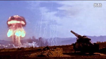 """【軍事頻道】-1953年美国M65""""原子安妮""""原子炮实弹试验"""