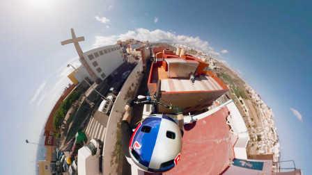 GoPro VR:单车大神 Danny 在屋顶上炫技