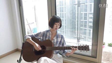 拥抱 吉他弹唱 燕子姐姐弹吉他 关于梦想