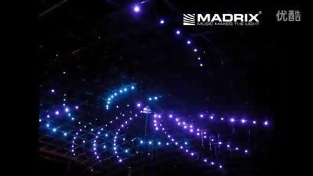 墨西哥夜店DMX512 pixels DMX vertical tube 3d night club