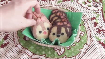22.【DIY】Chip & Dale icebox cookies! 风味饼干