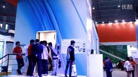 上海国际电梯展东芝、永大概念电梯(雷达眼多点触控系统)