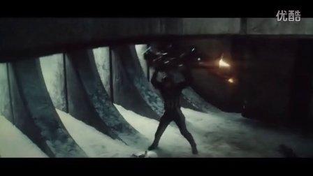 《美国队长3》精彩片段钢铁侠被美国队长玩虐暴打