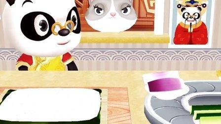 熊猫博士 小游戏第二期:亚洲餐厅 厨房小厨师,烹饪中餐美食