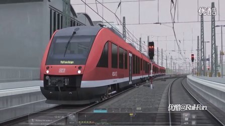 模拟火车2016 DB BR 648 DMU RT版