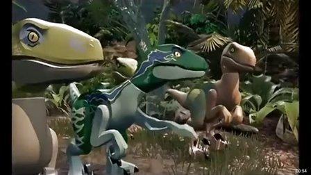 乐高侏罗纪公园第3期恐龙逃脱恐龙组装 恐龙世界恐龙战队恐龙总动员恐龙大战亲子益智游