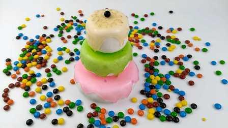 趣玩玩具彩泥乐园水晶果酱彩味蛋糕