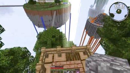 【灰哥】我的世界《天域群岛》4:换装登岛运气就是好,丛林岛眼睛小