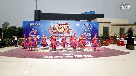 石家庄栾城区梦之舞舞蹈队《一朵玫瑰花》