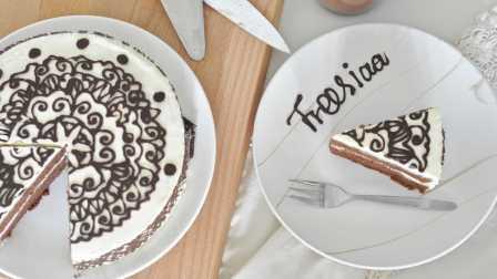 Freesiaa Made 2016 可可戚风 巧克力围边奶油蛋糕 49