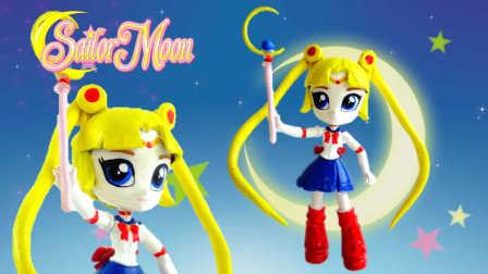 彩虹小马 小马国女孩 暮暮 美少女战士 月野兔 华丽变身小马宝莉 造这 Sailor Moon 水晶滴胶  透明水晶胶 亚克力