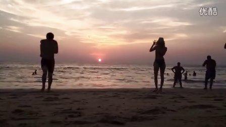 普吉岛日落延时摄影