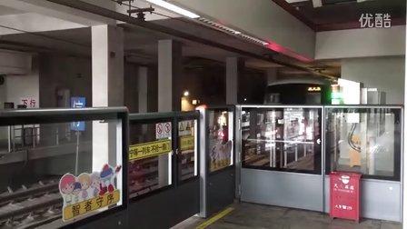 上海地铁11号线黑奶咖上海赛车场站出站